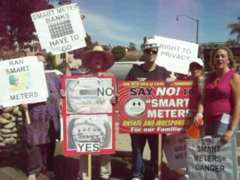 CEP's Smart Meter Protest in Encinitas, CA
