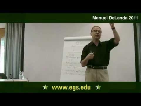 Manuel DeLanda. Eine materialistische Theorie der Sprache. 2011