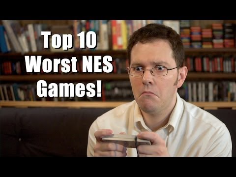 nes - The Nerd picks his 10 least favorite NES games that he's reviewed so far! Visit our website! http://cinemassacre.com/ James Twitter! https://twitter.com/cine...