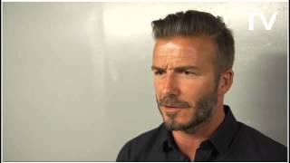 David Beckham on Gio dos Santos & LA Galaxy