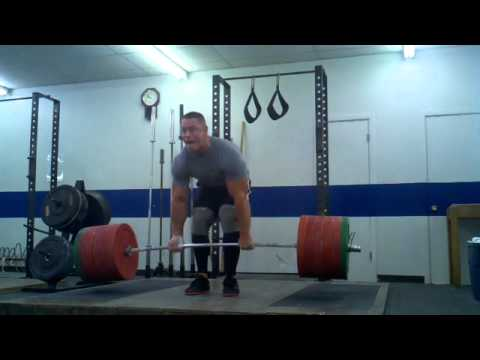John Cena Musculation 638 POUND DEADLIFT