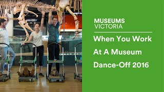 Nonton When You Work At A Museum Dance Off 2016   Museum Victoria Film Subtitle Indonesia Streaming Movie Download