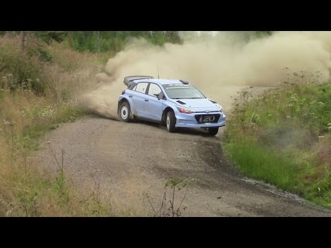 WRC Neste rally Finland Test 2016 - Smooth Sliding by Hayden Paddon