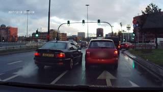 """Burak zwyczajny w BMW czyli chamstwo na drodze po powrocie z """"saksów"""""""