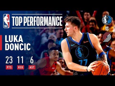 Video: Luka Doncic's UNBELIEVABLE Shot Forces Overtime | December 23, 2018