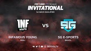 Infamous Young против SG e-Sports, Первая карта, SA квалификация SL i-League Invitational S3