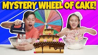 Video MYSTERY WHEEL OF CAKE CHALLENGE!!! Who Can Bake the Best Dessert??? MP3, 3GP, MP4, WEBM, AVI, FLV Agustus 2018