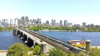 Daytime Time-Lapse Over Longfellow Bridge - May 31, 2014