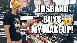 MY HUSBAND BUYS MY MAKEUP FOR ME  SEPHORA