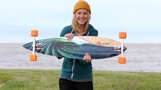 Longboard BoardGuide Reviews: Pintails by Original Skateboards with Lindsay