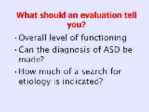 Autism / ASD – What To Do If Suspected