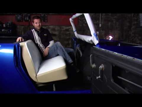 Dupli-Color 2013 Restoration Series: 1969 International Harvester Scout 800 - Episode 9 - Interior Restyling