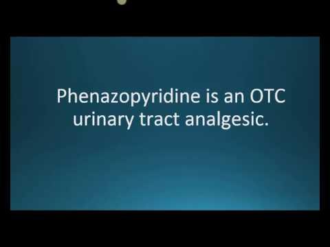 How to pronounce phenazopyridine (Uristat) (Memorizing Pharmacology Flashcard)