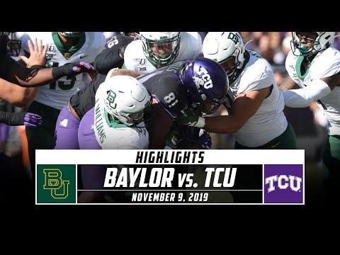 Baylor vs. TCU Football Highlights (2019) | Stadium