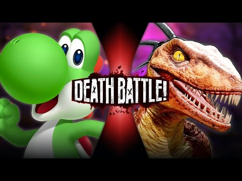 DEATH BATTLE! - Yoshi VS Riptor Video