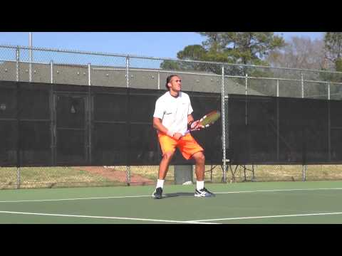 Mens Tennis vs. Winthrop - 3/18/15