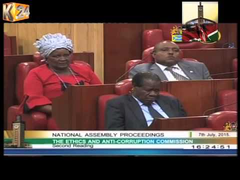 MPs support amendments to the EACC Act