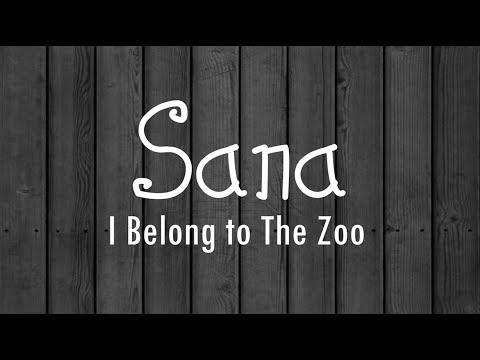 Sana   I Belong to the Zoo Lyrics HD