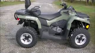 5. 2019 Can Am 450 Outlander XT DPS
