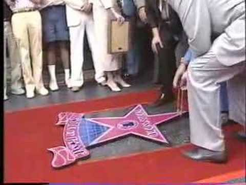 Clayton Moore - Classic Americana from 1987. Forgotten TV star, Clayton Moore aka The Lone Ranger finally gets his star on the Hollywood Walk of Fame. Disney had bought the ...