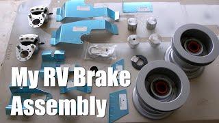 RV Aircraft Video - Van's Aircraft Builders - RV-9A Brake Assembly