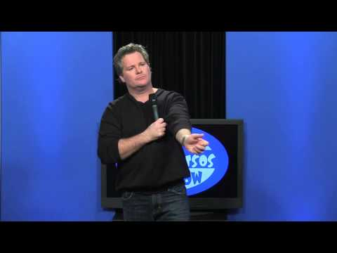 Michael Petit does stand-up comedy on The Steve Katsos Show