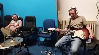 Video Rado nahrává kytarové sólo do skladby Stane se co má :)