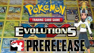 Very 1st Pokemon Prerelease: POKEMON XY EVOLUTIONS by Demon SnowKing