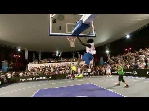 超乎常理、違反地球重力的灌籃大賽!