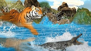 Wild Tiger Jungle Hunt 3D videosu