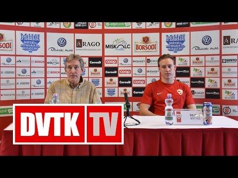 Sajtótájékoztató a Kontinentális Kupa előtt   2016. október 20.   DVTK TV