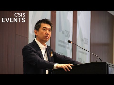 Japan Chair Forum: Toru Hashimoto (видео)
