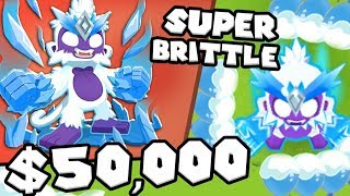 Bloons TD 6 - Super Brittle Monkey - Tier 5 Ice Monkey | JeromeASF