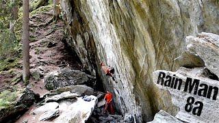 Rain Man 8a (Monkey Island, Zillertal) | Uncut Ascent by Mani the Monkey