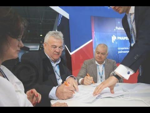 Υπογραφή συμφωνίας  ΑΠΕ-ΜΠΕ και Rossiya Segodnya