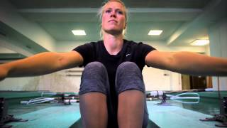 Julia Lier - Weltmeisterin der Ruder-Junioren aus Halle