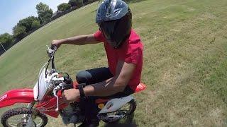10. GoPro Honda CRF150RB CRF150r Expert wheelie