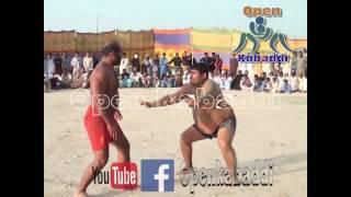 achoo bakra 302 best kabaddi fighting 2016 by Open kabaddi match - اچھو بکرا کبڈی