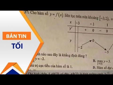 Sai sót trong đề thi khảo sát Toán lớp 12 | VTC - Thời lượng: 2 phút, 57 giây.