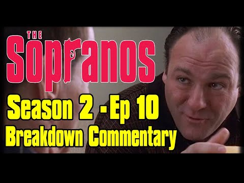 "The Sopranos Season 2 Episode 10 ""Bust Out"" Breakdown Commentary"