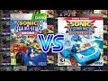 Sonic And Sega All Stars Racing Vs Sonic And All Star T