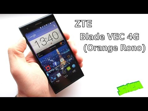 ZTE Blade VEC 4G Orange Rono - Detailed Review [EN]