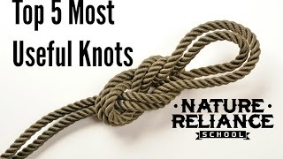 Video Top Five Useful Knots for camping, survival, hiking, and more MP3, 3GP, MP4, WEBM, AVI, FLV Agustus 2019