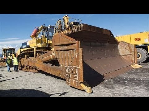 Extreme Dangerous Biggest Bulldozer Operator Skills - Amazing Modern Construction Equipment Machines