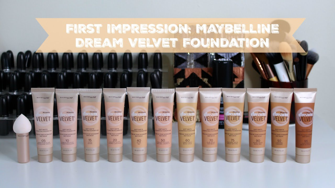 First Impression: Maybelline Dream Velvet Foundation