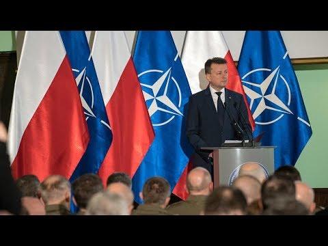 Odprawa kierowniczej kadry MON i SZRP - wystąpienie ministra M. Błaszczaka