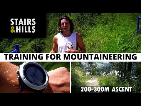 The Best Training For Mountaineering - Stairs and Hills [E1] (видео)