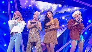 《POWERFUL》 MAMAMOO(마마무) - Starry Night(별이 빛나는 밤) @인기가요 Inkigayo 20180318