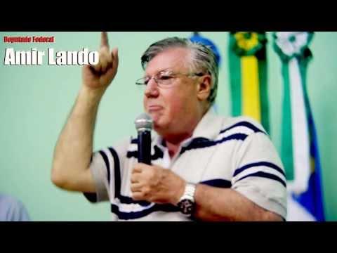 Discurso histórico do Deputado Amir Lando em Theobroma sobre Reforma Agrária
