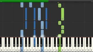 How to Play: BROCKHAMPTON - No Halo (Piano Tutorial)